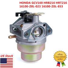 New Carb Carburetor For HONDA GCV160 HRB216 HRT216 16100-Z0L-023 16100-ZMO-803