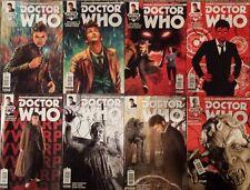 Doctor Who Tenth Doctor Comics #1-8 Titan Comics
