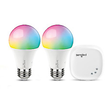 Sengled Smart LED Wireless RGBW A19 Bulb - Multicolor