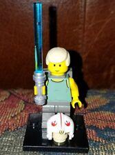 Authentic LEGO StarWars Luke Skywalker Minifigure sw106 4502 Jedi Dagobah X-Wing