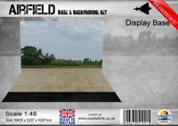 Coastal Kits 1:48 Scale Airfield Base & Background Set
