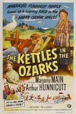 THE KETTLES IN THE OZARKS Movie POSTER 27x40 B Marjorie Main Arthur Hunnicutt