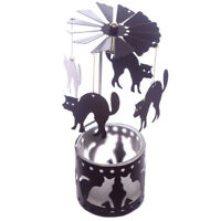 Halloween Tea Light Powered Metal Spinning Decoration in 4 designs