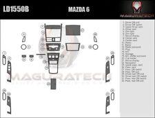 Fits Mazda 6 Sedan 2009-2013 With Manual Trans Large Premium Wood Dash Trim Kit