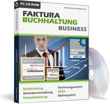 Rechnungsprogramm inkl. Buchhaltung für Windows,Faktura Software Programm,EDV