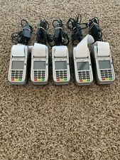 - Lot of 5 - First Data Fd130 Emv Nfc Dial/Ip Credit Card Machines - Free ship!
