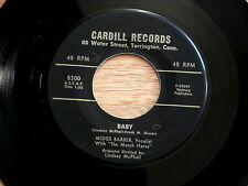MIDGE BARBER~BABY~ORANGE SUSPENDERS~CARDILL RECORDS~5300~RARE~~ TEEN 45