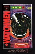 Alan Moore Watchmen Portfolio DC Comic Art Print SIGNED Dave Gibbons #10