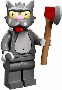 LEGO 71005 Simpsons Minifigures Series 1 Scratchy the Cat Minifigure Re-pack New