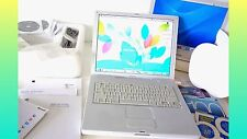 "Apple iBook G4 2005 14"" 1.33GHz ""BOXED"" 60GB HD 768 RAM + Extras . Working WELL"