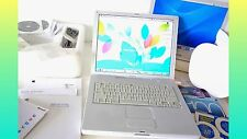 "Apple iBook G4 14"" 2005 .1.33GHz ""BOXED"" 60GB HD 768 RAM + Extras . Working WELL"