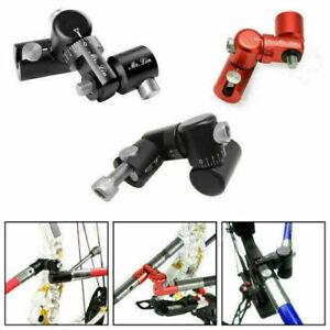 "Archery Single Side V-Bar Adjustable Quick Disconnect Mount Bow Rod Stabilizer """