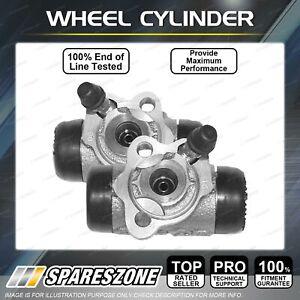 2 Rear Brake Wheel Cylinders LH + RH for Toyota Corolla AE112 10/98-11/01