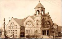Real Photo Postcard Central Christian Church in Walla Walla, Washington~136457