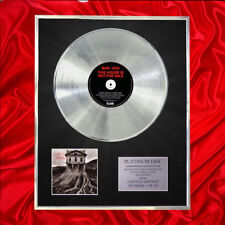 BON JOVI THIS HOUSE NOT FOR SALE CD  PLATINUM DISC VINYL LP