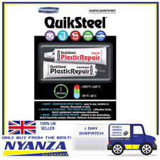 QUIKSTEEL PLASTIC REPAIR PASTE AND HARDENER