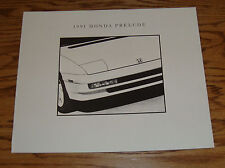 Original 1991 Honda Prelude Deluxe Sales Brochure 91