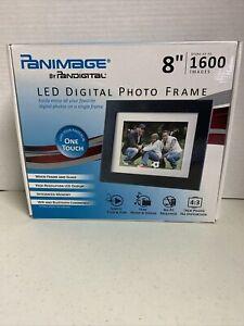 """Pandigital Panimage 8"""" LED Digital Photo Frame 1600 Images"""