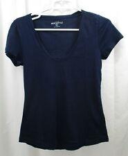 Women's J Crew Twisted Trim T Shirt Small