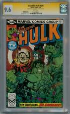 INCREDIBLE HULK #248 CGC 9.6 SIGNATURE SERIES SIGNED x2 STAN LEE GOLDEN MARVEL