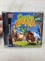 OOGA BOOGA (SEGA DREAMCAST, 2001) COMPLETE EXCELLENT CLEAN DISC CIB