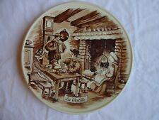 More details for antique plate porcelain de france castelroux,