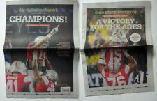 Zeke Elliott Cover, *2 paper Bonus, Columbus Dispatch Ohio State Buckeyes