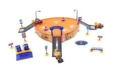 37pc Kids Construction Play Set Parking Garage Diggers Bulldozer Truck Garage