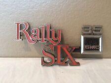 Vintage GMC 35 Rally STX  Emblem-Super Rare