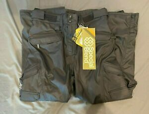 Special Blend Black 5K Waterproof Breathable Cargo-Style Snowboard Pants L NEW