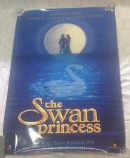 "SWAN PRINCESS ORIGINAL MOVIE POSTER 27""x40-1/4"", with mirror image, SIGNED"