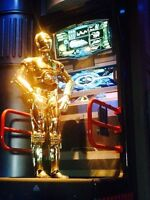"""Official 3D Star Tours Ride Disneyland Glasses   """"GRAND OPENING"""" Star Wars"""
