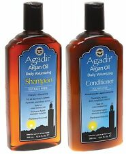 AGADIR ARGAN OIL VOLUMISING SHAMPOO 355 ML AND CONDITIONER 355 ML F S