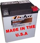 Deka 400CCA AGM Absorbed Glass Mat Battery Harley Touring Bagger Dresser 97-19