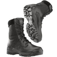 "Men's 5.11 Tactical ATAC 8"" Side Zip Military Army Combat Boot Black 12001-019"