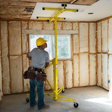 11ft Drywall Rolling Lifter Panel Hoist Jack Caster Construction Lockable Tool