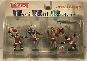 Timpo Knights In Armour Silver/ Black - Medieval Era - 43105 Set Unopened Boxed