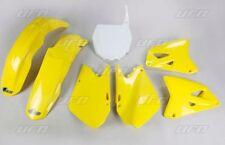 Kit plastique UFO motocross Suzuki RM 125 250 2001 - 2002 origine jaune