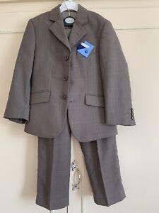 Mod, Skinhead, 3-button Boys Suit In Excellent Condition Age 5/6 John Lewis