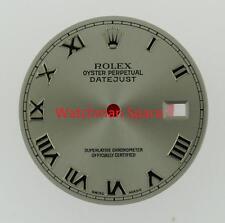 Original Men's Rolex Datejust QS 116200 116220 116234 Rhodium Roman Dial SS #A29