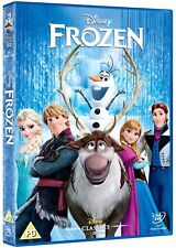 Disney FROZEN DVD Iconic Feature Film + Bonus. FAST FREE P&P New Elsa Anna Olaf