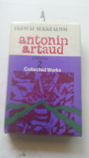 antonin artaud collected works volume 2 HC HB w/dj rare book 1971 french surreal