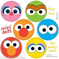 Sesame Street Stickers - 48 Dots - 8 Sheets - Reward Charts Party Merit - Elmo