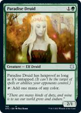 x4 Paradise Druid U MTG Commander Adventures in the Forgotten Realms M/NM, Engli
