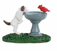 LEMAX CHRISTMAS VILLAGE HOUSE ACCESSORIES - DOG FOUNTAIN #94535