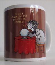 ULI STEIN Tasse Henkeltasse KATZE KAFFEESATZ Henkelbecher aus Porzellan - NEU