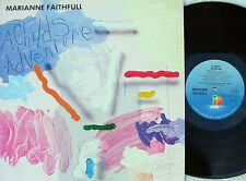 Marianne Faithfull ORIG UK LP A childs adventure EX '83 Island Pop Rock