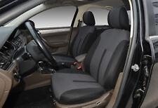 2 Front Car Seat Covers Semi-Custom Fabric for Subaru 861 Bk