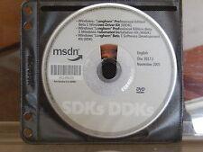 MSDN DISC 3017.1 NOVEMBER 2005 - ENGLISH