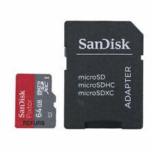 SanDisk Ultra 16GB 32GB 64GB Micro SD Tarjeta de memoria Clase 10 hasta 80Mb/s A